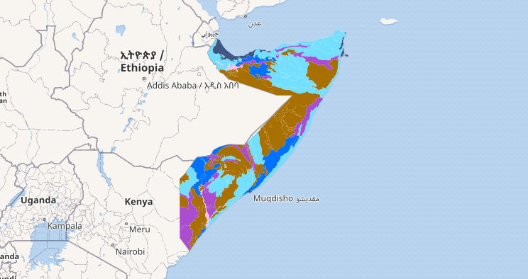 Somalia Land Degradation FAOSWALIM